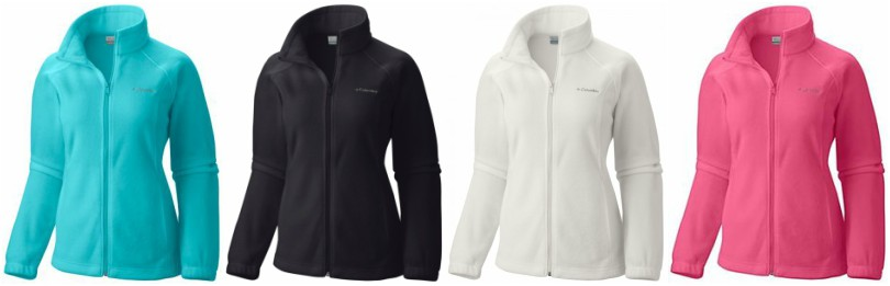 Columbia Benton Springs Full-Zip Fleece Jackets for as low as $13.05 (reg $60)