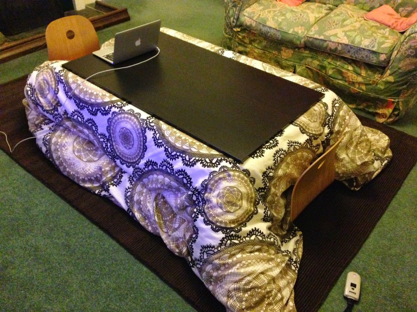 Astro-Beano: Ikea ZAISU - Floor chairs for our kotatsu