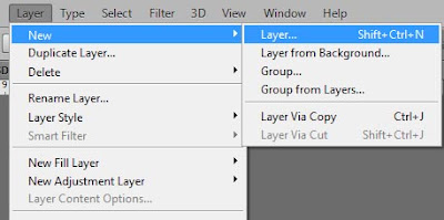 Cara Membuat Layer Baru di Photoshop