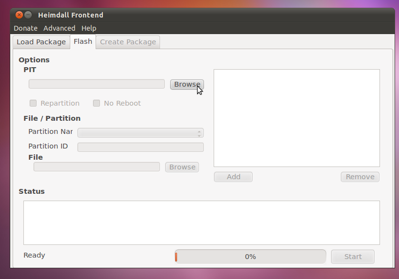 Heimdall - Flashing Samsung Galaxy S Series ROM in Ubuntu