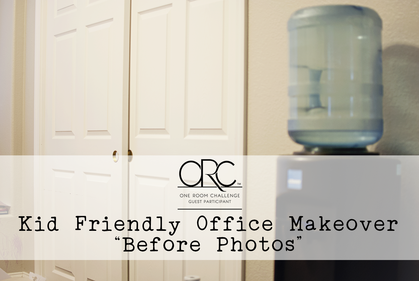 One Room Challenge Kid Friendly Office Makeover Before Photos
