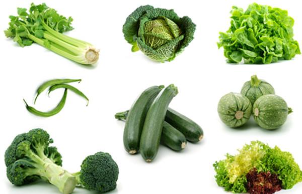 Thực phẩm đa dạng màu sắc