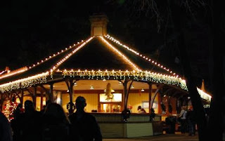 Lighted Pavillion