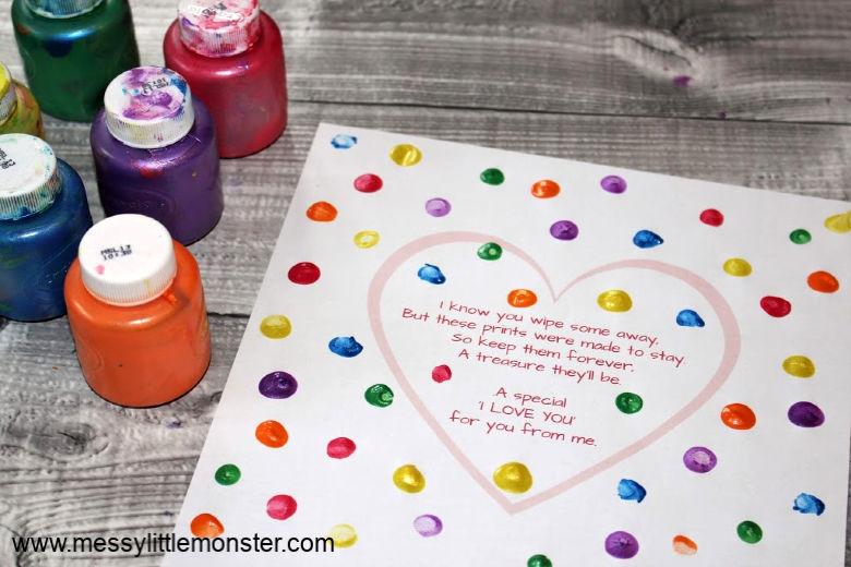 fingerprint heart poem