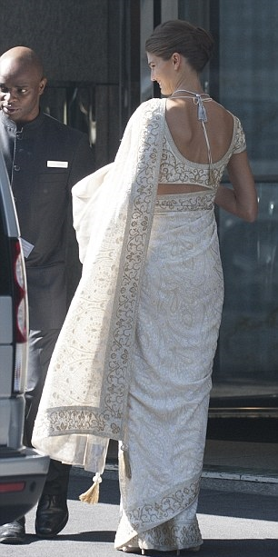 Royal Couture Prince Rahim Aga Khan Wedding Geneva