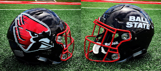 ball state helmet 2017 uniform
