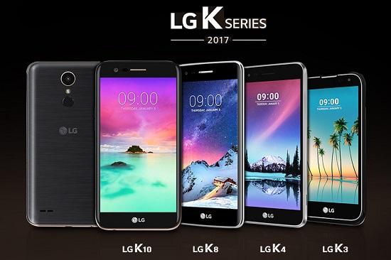 LG SERIE K 2017 OFICIAL