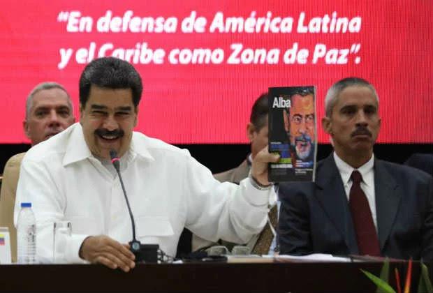 Maduro, desde Cuba: Los restos de la OEA solo dejan golpes de Estado, amenazas y muertes