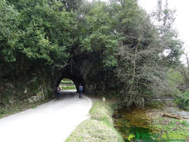 Túnel de entrada a la Playa de Cuevas del Mar