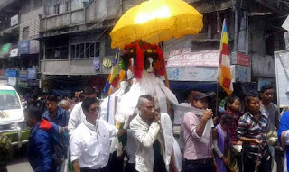Buddha Jayanti Celebration in Darjeeling