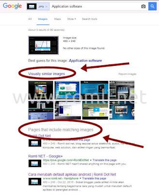 Cara mencari gambar yang sama di internet