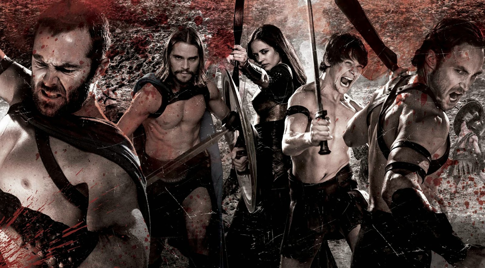 Paige Seven: 300: Rise of a Bloody Empire