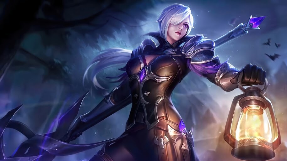 Silvanna, Midnight Justice, Mobile Legends, Skin, 4K, #5.1910