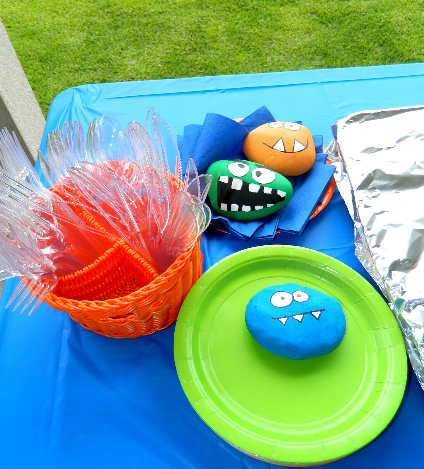 Baking Memoirs A Little Monster Themed Baby Shower