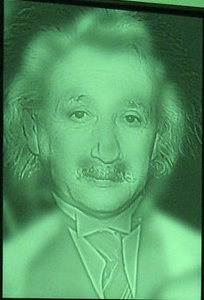 Optical Illusion of Albert Einstein & Marilyn Monroe