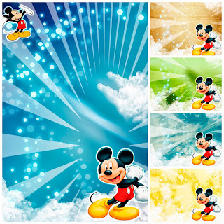 Tarjeta de Invitación de Mickey Mouse Descárgalas Gratis