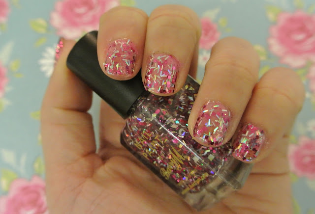 barry m pink sapphire glitter