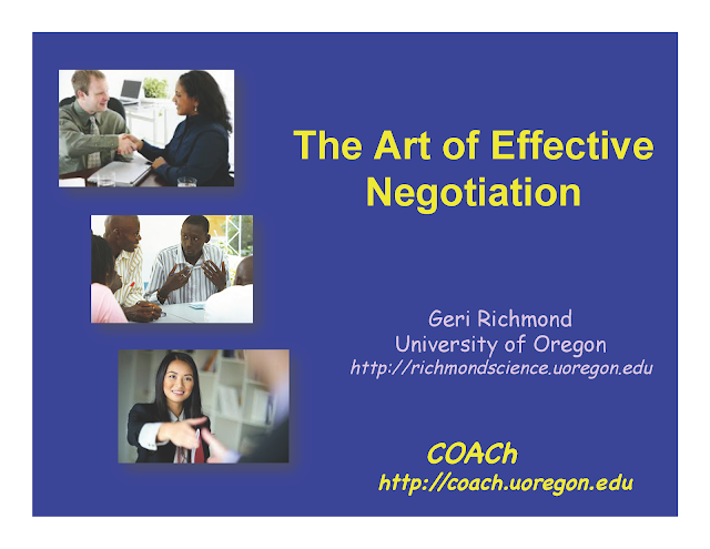 The Art of Effective Negotiation
