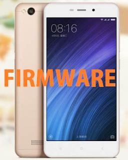 Download Firmware Xiaomi Redmi 4A Gratis Tanpa Password