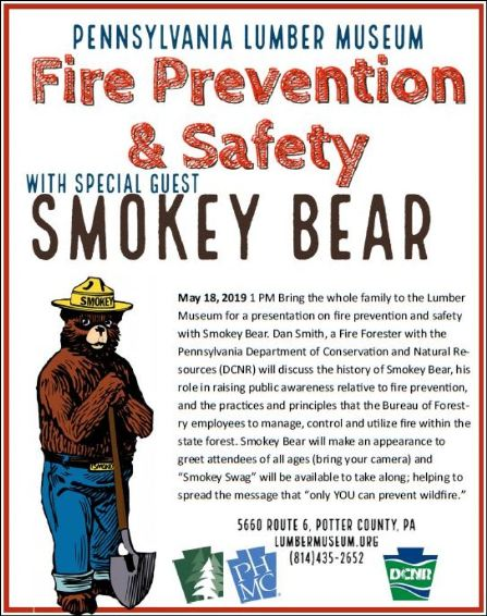 5-18 Fire Prevention & Safety with Smokey the Bear