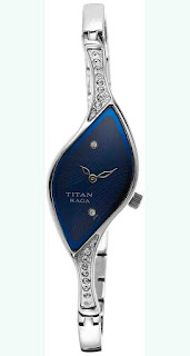 Deals on Titan analog Blue Dial Women's Watch