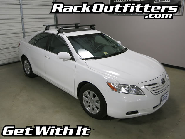 Toyota Camry Rhino Rack 2500 Vortex Aero Black Roof Rack
