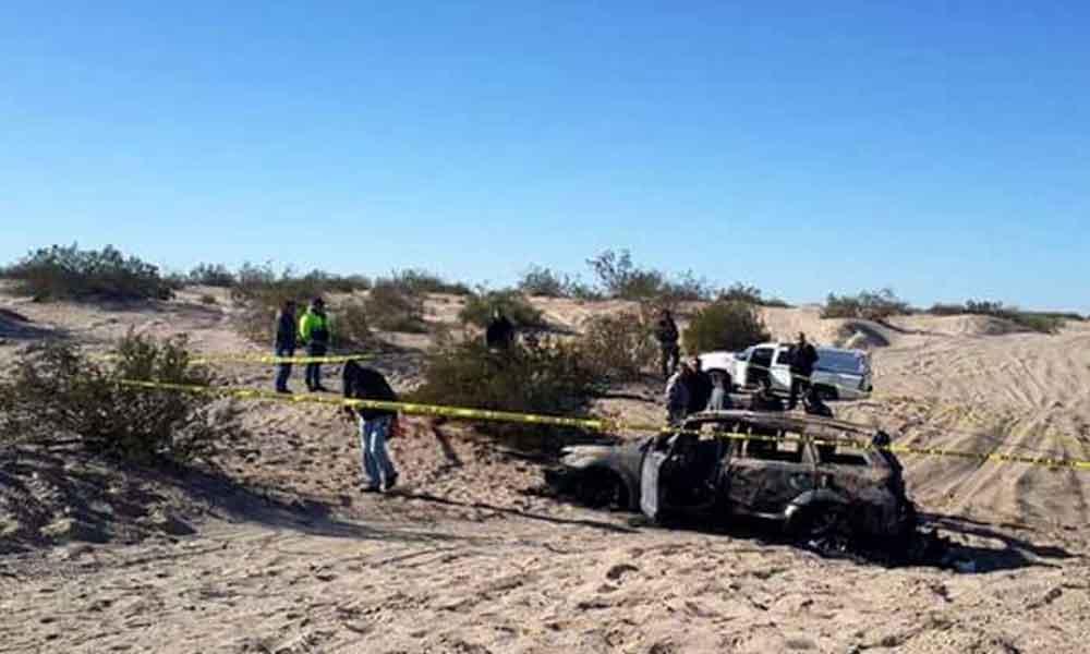 Ejecutan a jefe policiaco en Sonora y queman su cuerpo