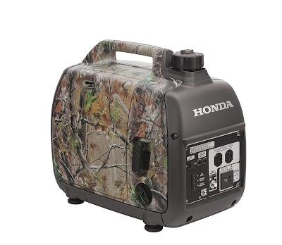Honda Introduces new Realtree EU2000i Camo Portable Generator