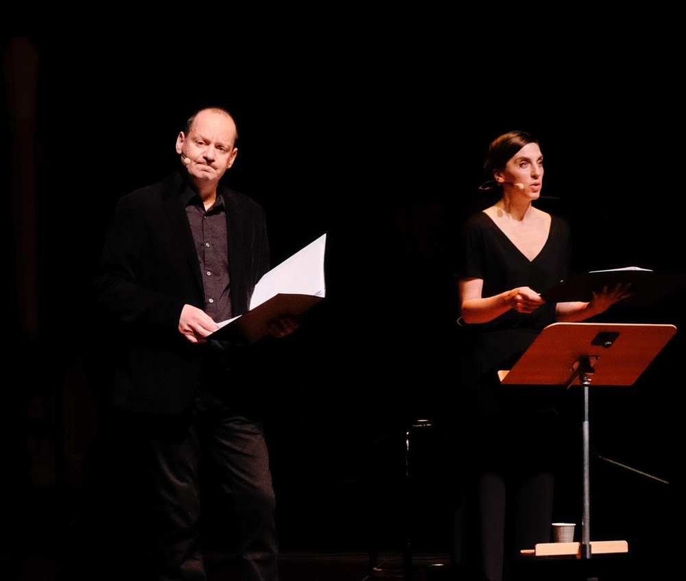 A Song of Good and Evil at Berwald Hallen, Stockholm with Philippe Sands, Emma Pallant
