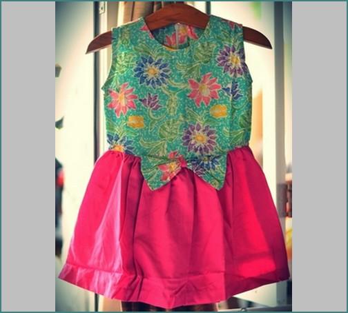 30 Gambar Baju Batik Untuk Kerja Dan Pesta: Model Baju Batik Anak Perempuan Terbaru Foto Dan Gambar