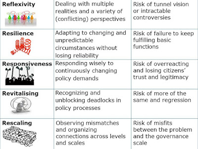 Coping with the wicked problem of climate adaptation across scales: The 5-R Governance Capabilities