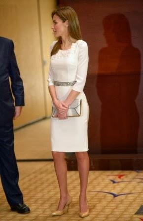 9bbc678c3142 Fashion Assistance: Dña. Letizia, elegante estilo en Miami con ...