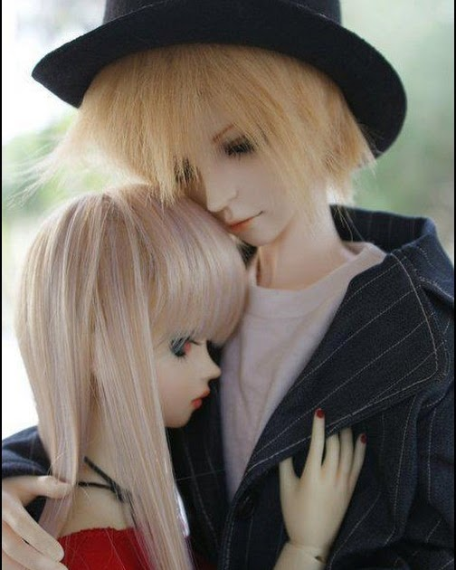 Couple Cartoon Wallpaper With Quotes Doll Couple Hug