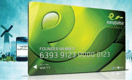 Easypaisa Mobile Account ATM Card Gets Popularity