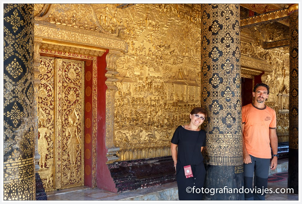 Wat Xieng Mouane en Luang Prabang, Laos
