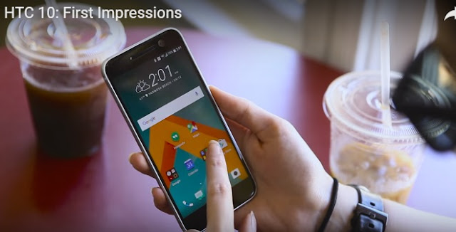 HTC 10 First Video Impressionss or Hands-on