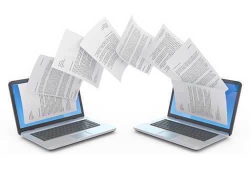 Manfaat jaringan komputer untuk berbagai file