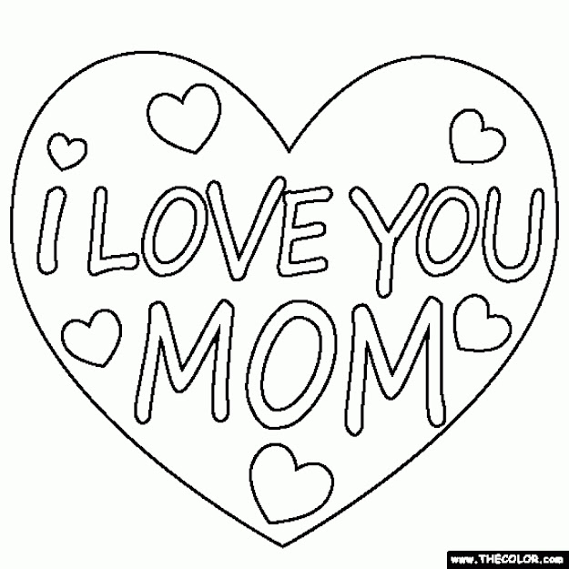 Love You Coloring Pages Free To Print Jhdb