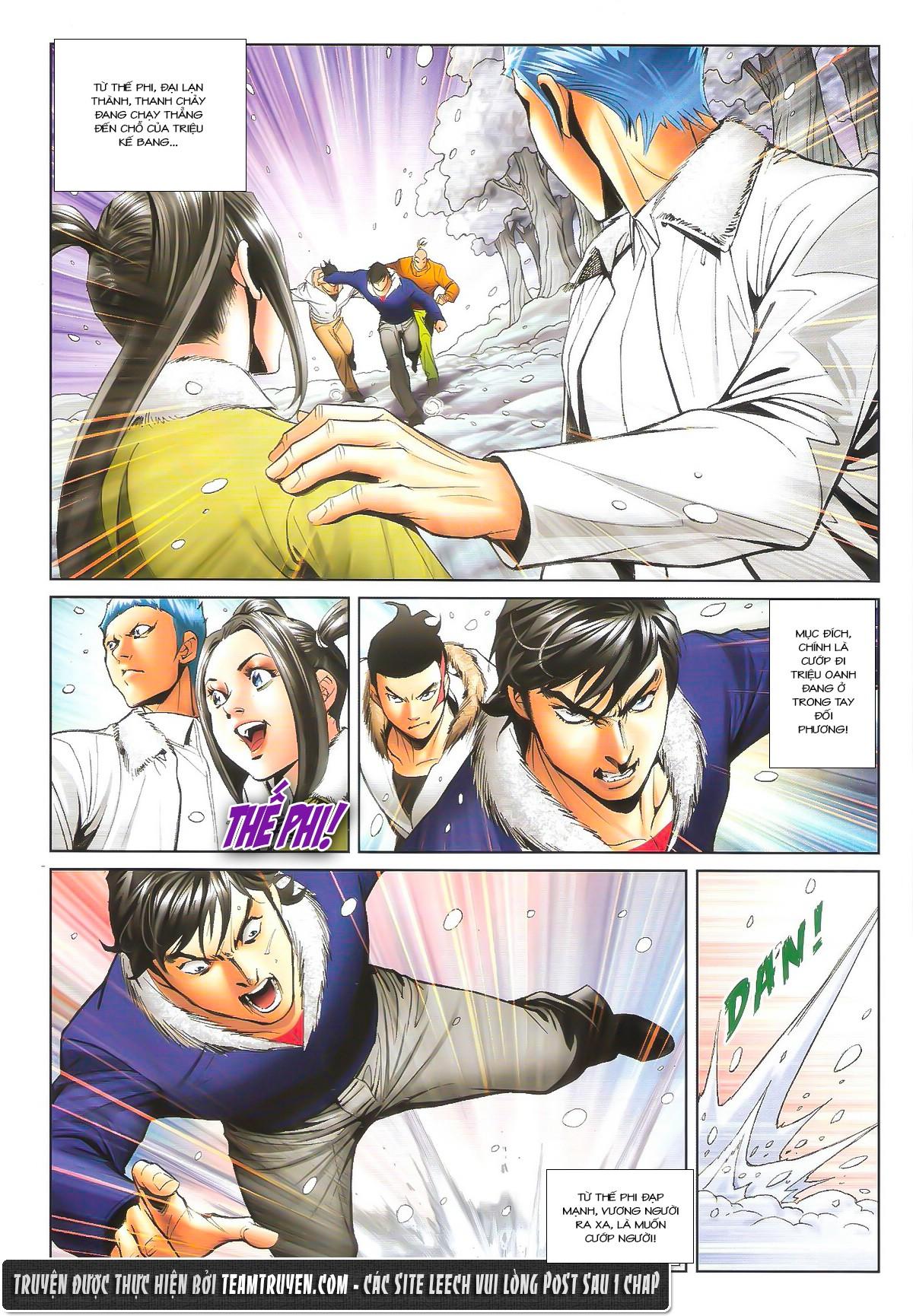Người Trong Giang Hồ chapter 1614: tiễn mày một đoạn trang 6