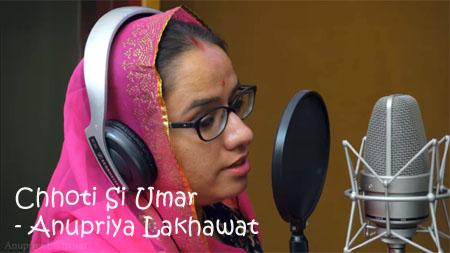 Chhoti Si Umar Lyrics - Rajasthani Folksong - Anupriya Lakhawat