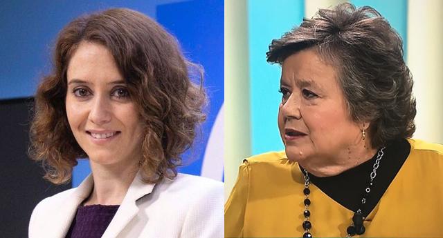 Monumental repaso de Cristina Almeida a Isabel Díaz Ayuso (PP)