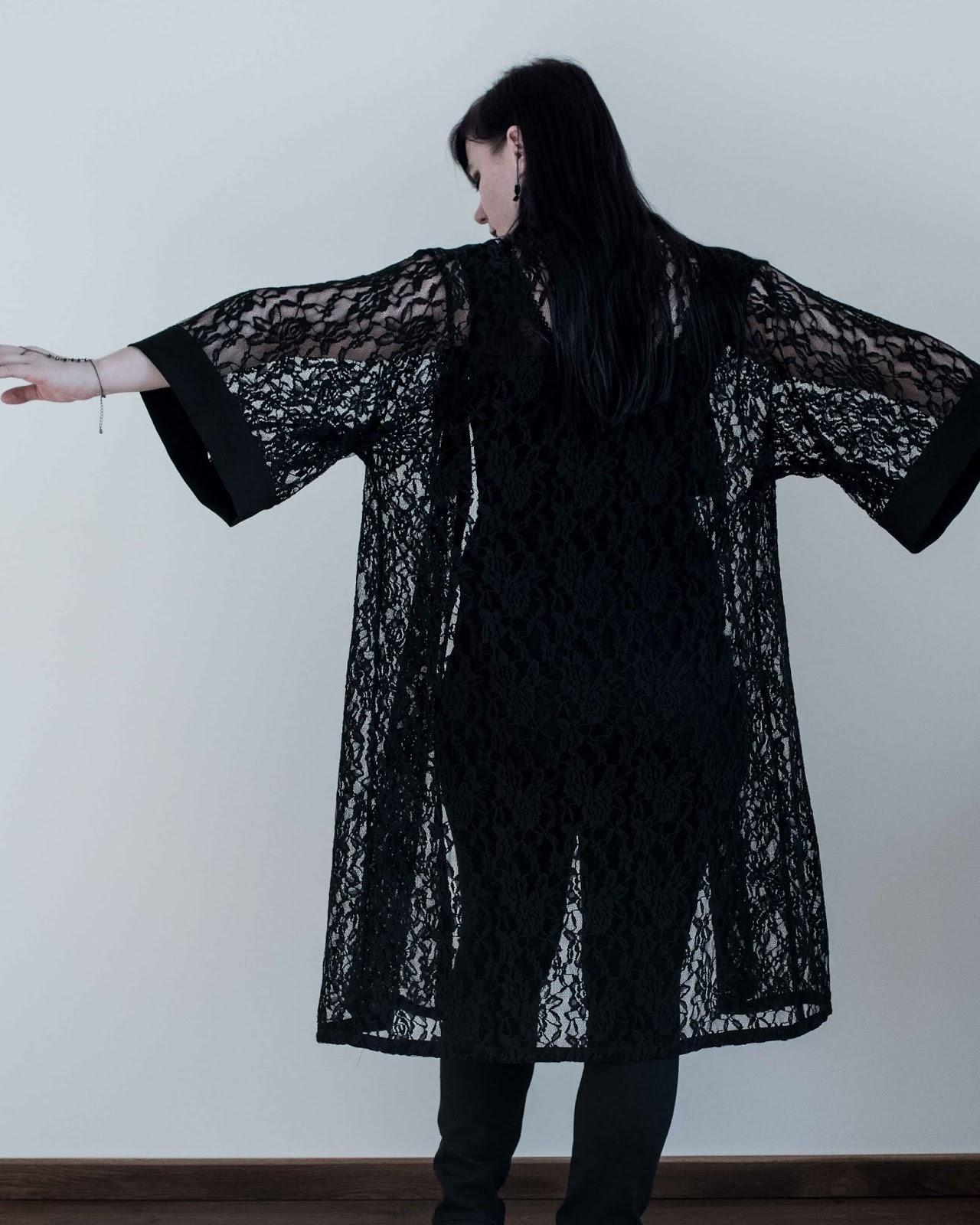 Helen's Closet Suki Kimono sewing pattern made by Minnsthings