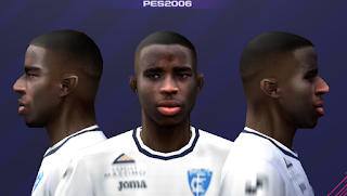 PES 6 Faces Hamed Junior Traorè by Gabo CR Facemaker