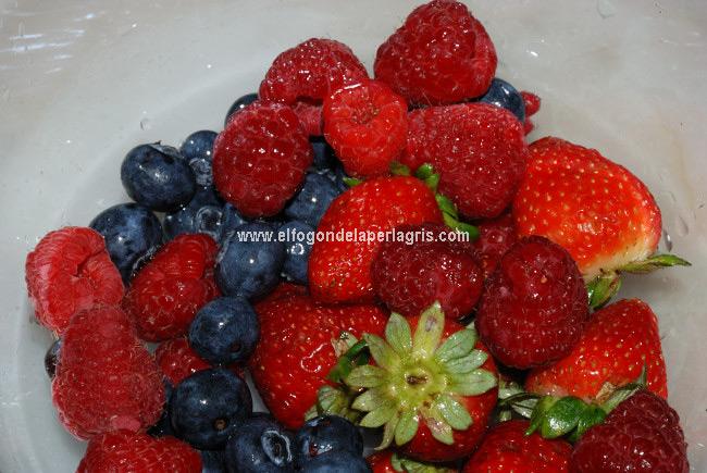Limpiar las frutas