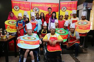 ayam brand, malaysian brand, rumah kebajikan, niat yang murni, sumbangan ikhlas, produk ayam brand, raikan ulang tahun, tuna, ayam, penang, malaysia,