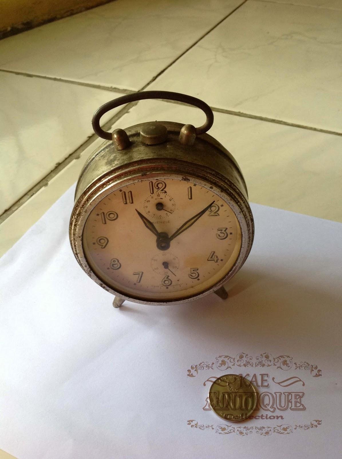Kae Antique Collection Antique Kienzle Table Alarm Clock
