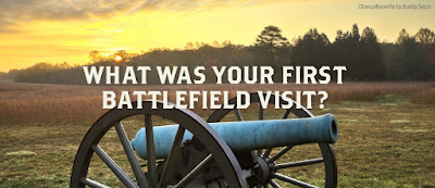 What was your first battlefield visit?