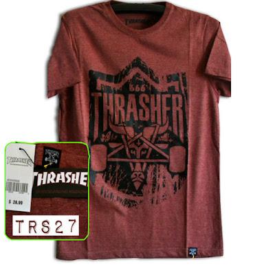 Kaos Distro Surfing Skate THRASHER Premium Kode TRS27