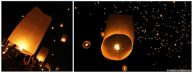 Yeepeng Lanna International Floating Lantern Festival, Chiang Mai, Thailand