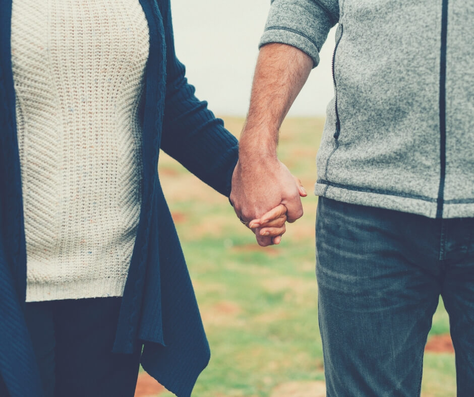 Valentine's Gifts You Won't Find In The Shops | Hold hands and go for a walk - it can help you reconnect.